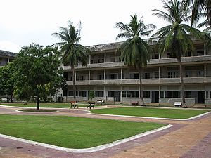Tuol Sleng Genocide Museum - Khmer Rouge Torture Chambers S-21