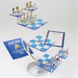 Star Trek Tri-Dimensional Chess Set by the Franklin Mint