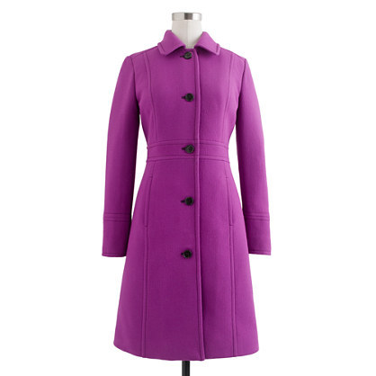 J. Crew - Double-cloth lady day coat with Thinsulate®