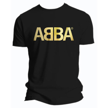 Abba Gold Logo Men's T-Shirt