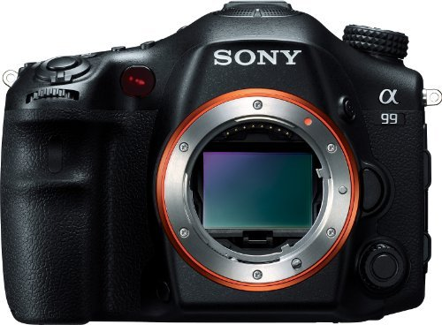 Sony Alpha SLT-A99V Full-Frame 24.3 MP SLR Digital Camera with 3-Inch LED - Body Only (Black)