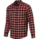 DC - Young Mens Truckee Woven Top, Size: Small, Color: Natural Flannel