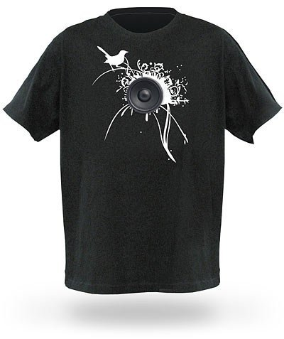 ThinkGeek Personal Soundtrack T-Shirt (L)
