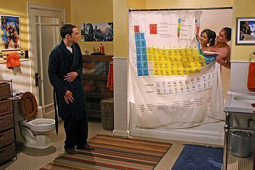 Scenora periodic table shower curtain eva vinyl as featured in scenora periodic table shower curtain eva vinyl as featured in the loobenfeld decay episode of the big bang theory urtaz Image collections