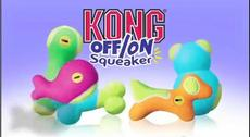 Kong Off/On Squeaker
